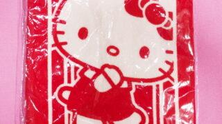 けんけつちゃん☆ハローキティ・マフラータオル